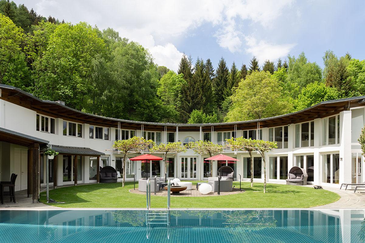 Designhaus Architektenrundvilla Kärnten