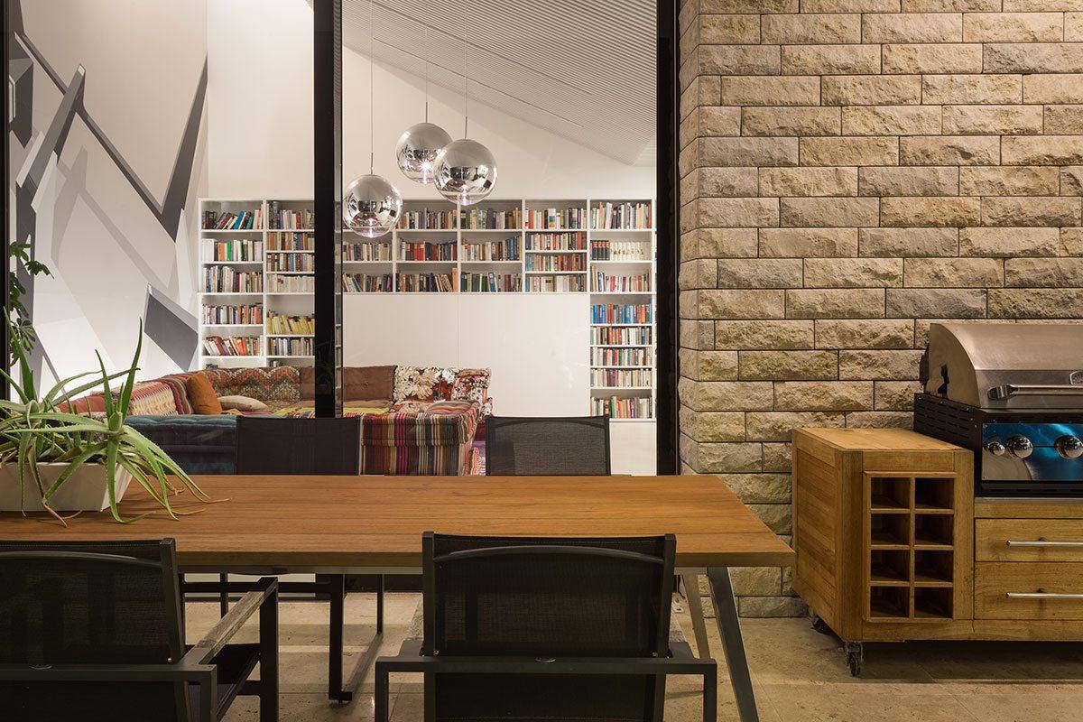 Terrasse - Design Ferienhaus Bauhausvilla Kärnten, Spittal/Millstätter See